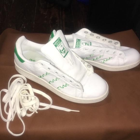 verde bianco & stan smith le adidas dimensioni 6